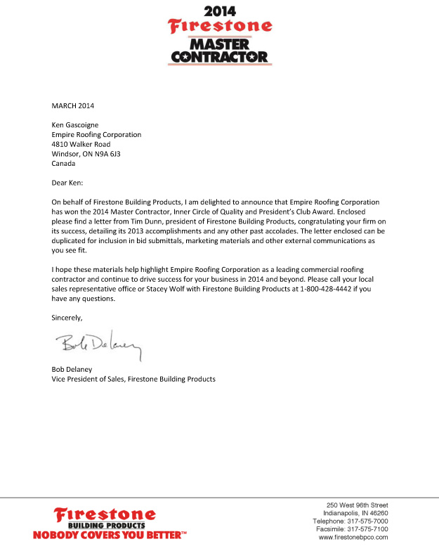 Roofing Estimator Cover Letter