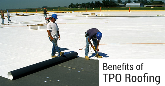 Five Benefits Of Tpo Roofing Empire Roofing Corporation