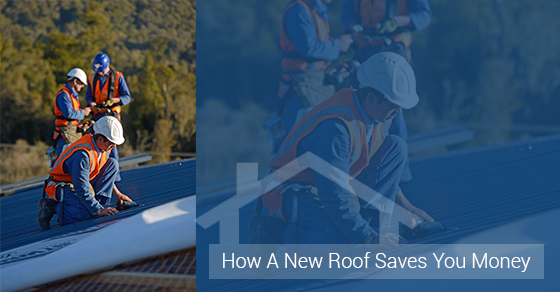 New Roof Saves Your Money