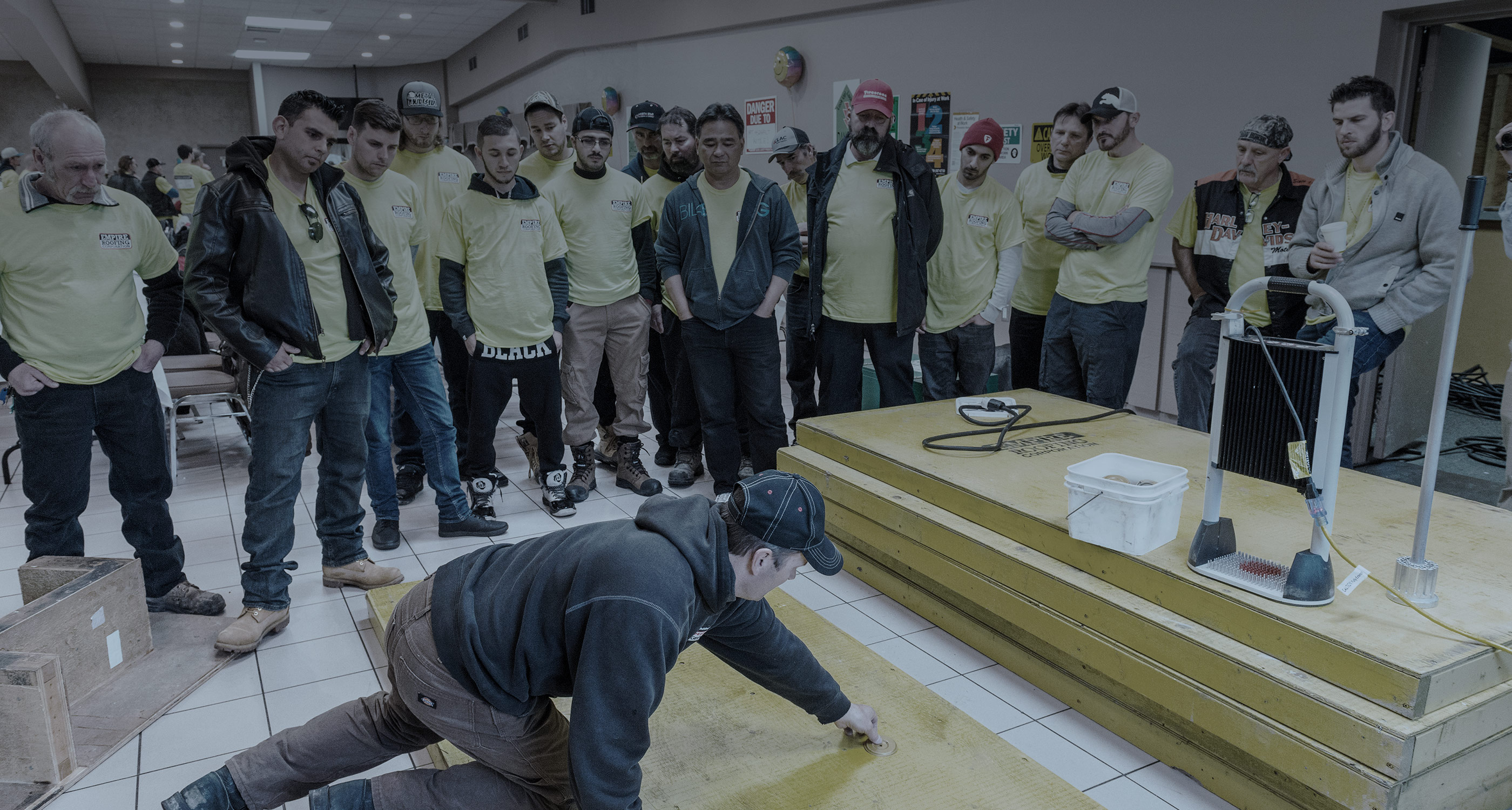 Commercial & industrial roofing training